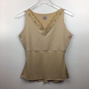 SPANX Shapewear Tank w/Lace Trim